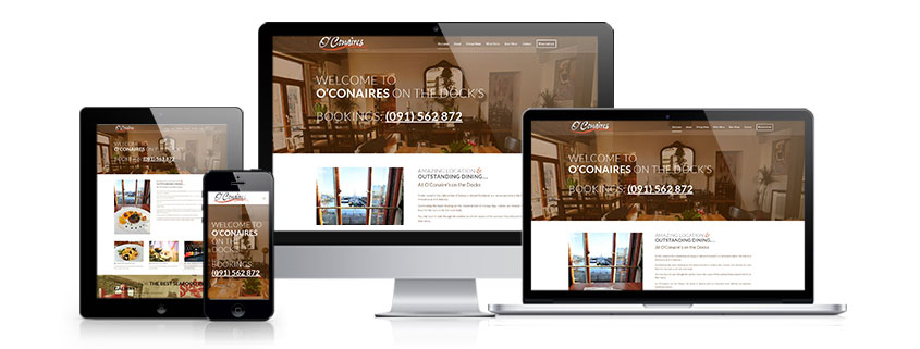 Affordable web design Galway