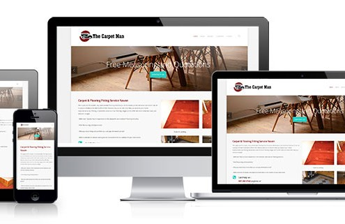 The Carpet Man - Affordable websites Ireland