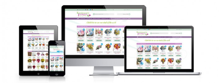 Knocknacarra Florists best budget web design in Ireland